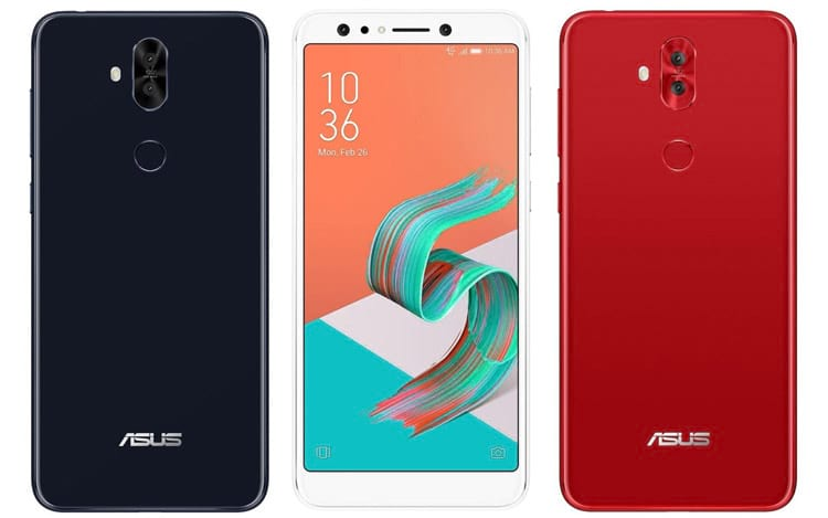 Cores do Zenfone 5 Lite