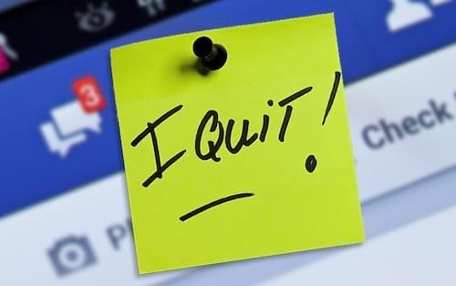 Coluna: Facebook: I quit