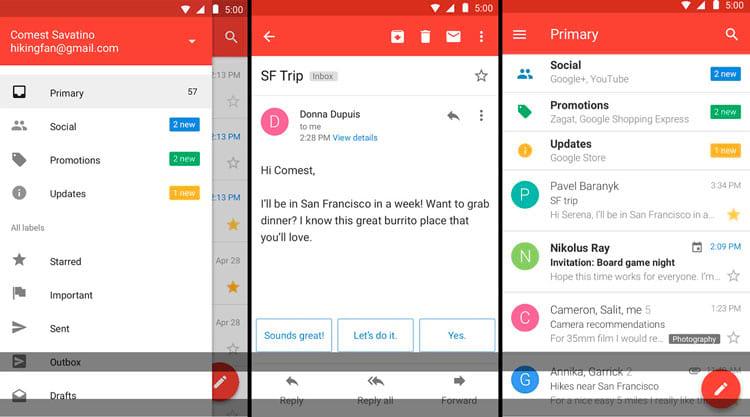 Google lança Gmail Go para Android