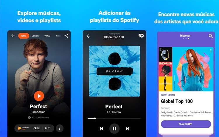 Aplicativo de reconhecimento de músicas recebe sua segunda atualização