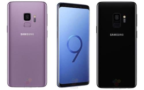Vazamento revela tudo sobre o Galaxy S9 e Galaxy S9+