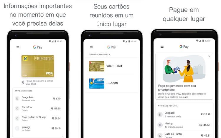 Google Pay ganha app renovado e integração com cartões de crédito Bradesco