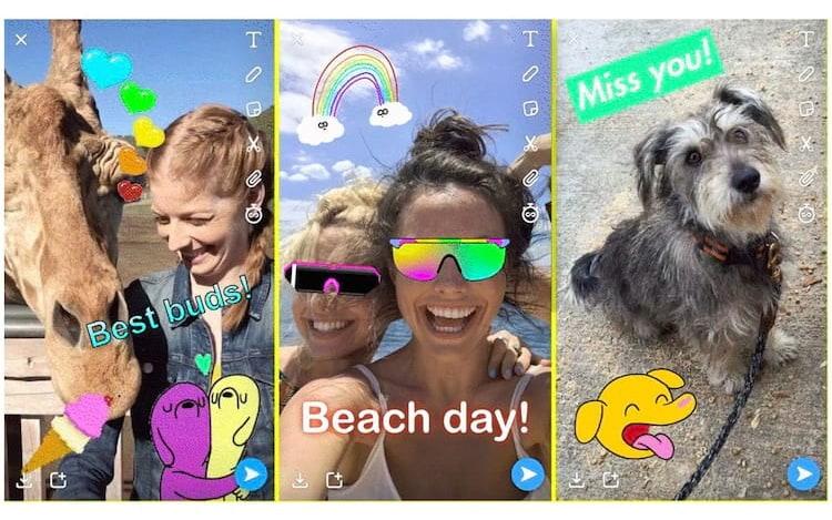 Agora é a vez do Snapchat: App copia recurso do Instagram.