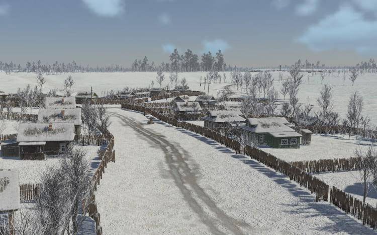 PUBG trabalha em um novo mapa com neve. Imagem fictícia.