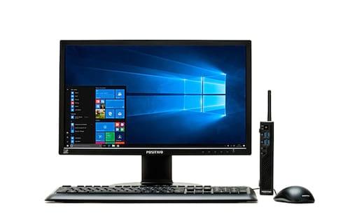 O minidesktop Positivo Master C820 chega ao mercado com foco em conectividade e otimização de espaço