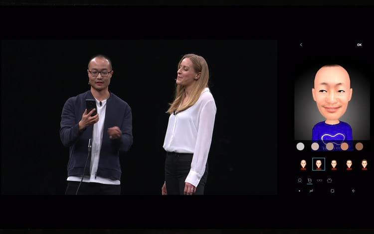 Galaxy S9 - animoji