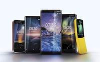 MWC 2018: HMD anuncia Nokia 1, 6, 7 Plus, 8 Sirocco e relança Nokia 8110