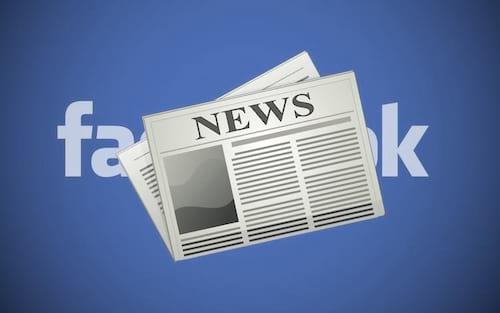 Facebook agora permite que imprensa deixe suas notícias como urgentes