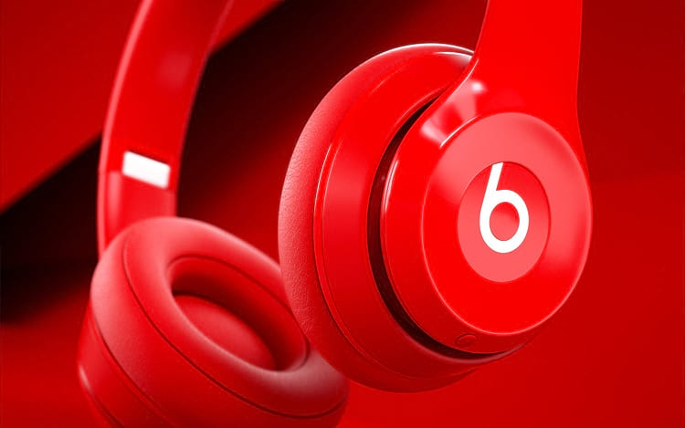 HeadPhone Beats by Dre, marca da Apple.