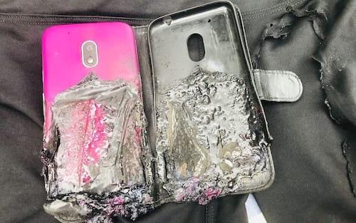 Comerciante de SP fica ferido após explosão de smartphone da Motorola