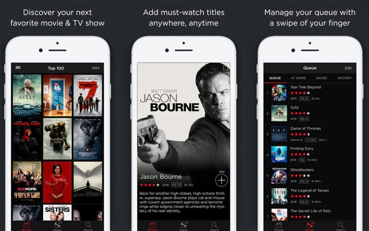 Pelo aplicativo da Netflix para dispositivo móvel será possível ter prévias de 30 segundos de todos os títulos do serviço.