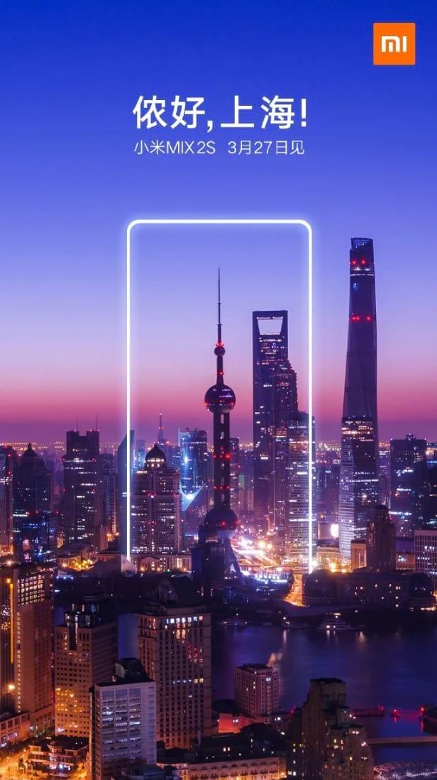 Lançamento de 27 de março em Xangai