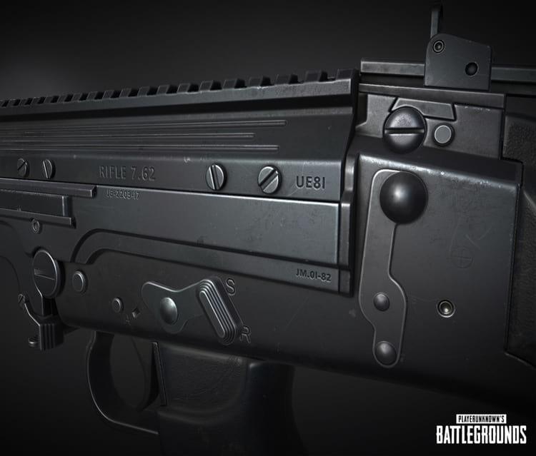 Uma das novas armas que serão introduzidas no jogo.