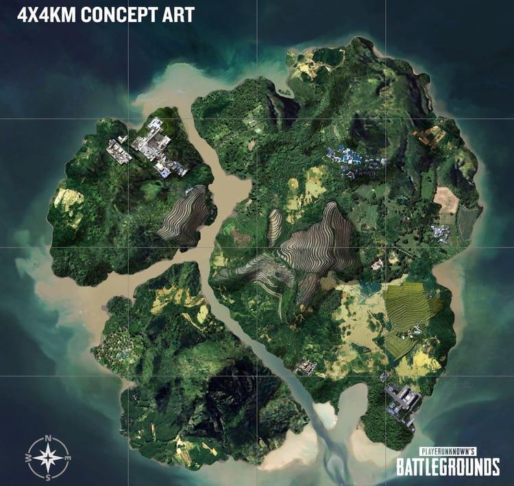 Mapa 4x4 que promete uma experiência mais intensa.