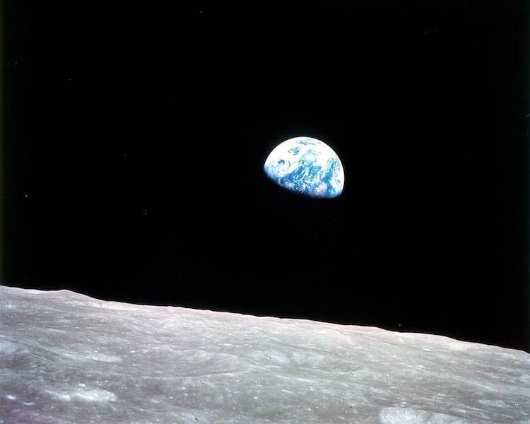 Pela primeira vez, os seres humanos viram a Terra deste ângulo
