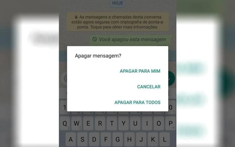 Usuários tem até 68 minutos para apagar mensagens envidas erradas no WhatsApp.