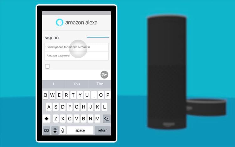 Alexa está no aplicativo da Amazon.