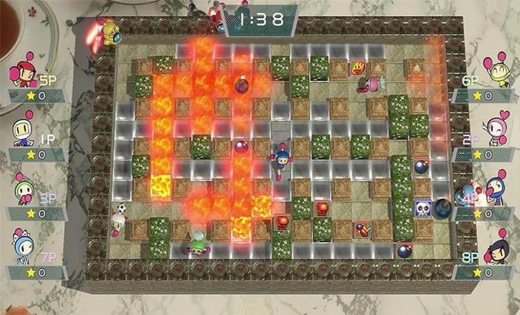 Super Bomberman R chega em junho para PS4, PC e Xbox One