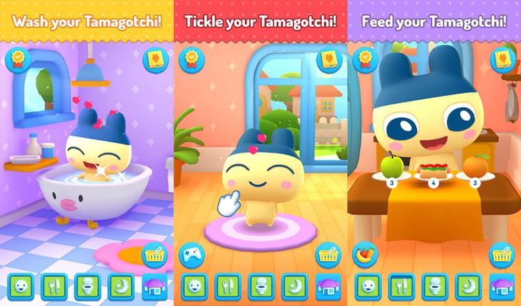 O famoso Tamagotchi agora disponível para jogar no celular.