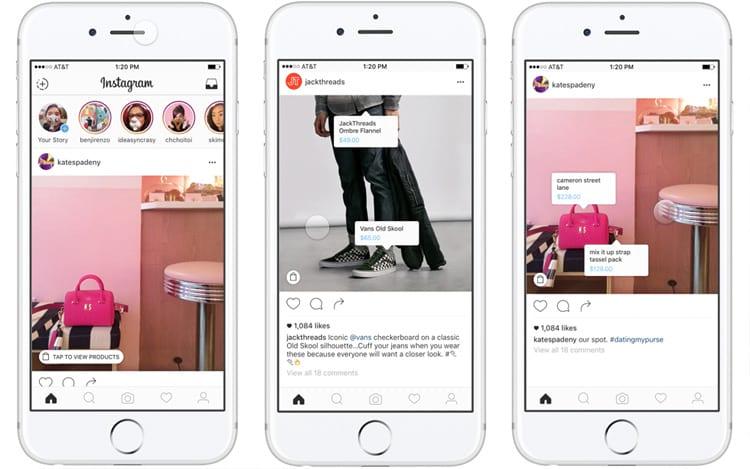 Nova ferramenta do Instagram direciona os clientes até o serviço da loja.