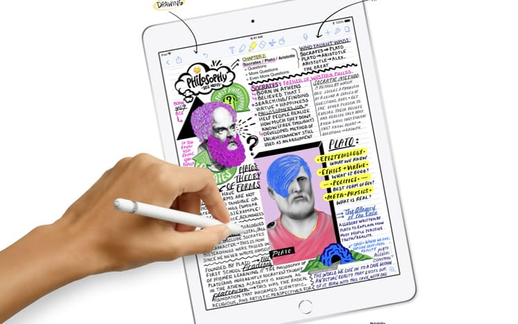 """iPad de 9,7"""" voltado a educação"""
