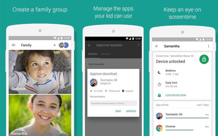 App para controle do que crianças acessam no smartphone