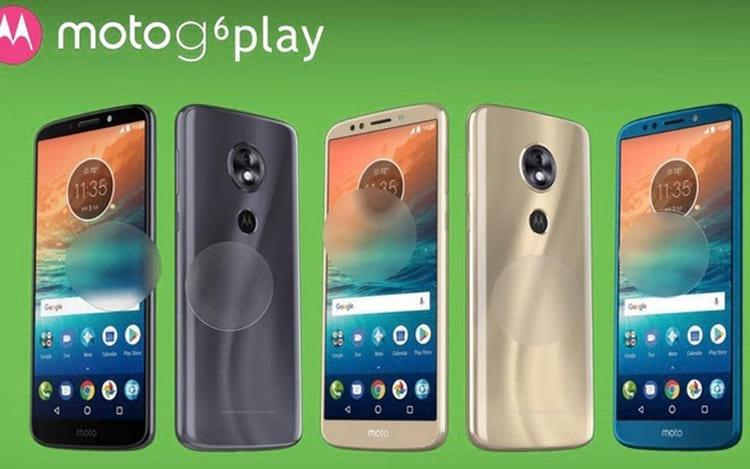 Possível Moto G6 Play