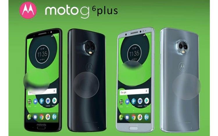 Possível Moto G6 Plus