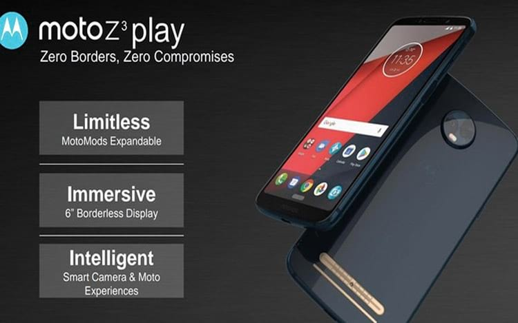 Renders do Moto Z3 Play mostram totalmente o equipamento