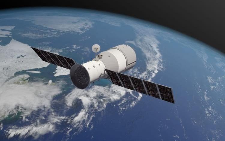 Estação espacial Tiangong-1 cai no Pacífico.