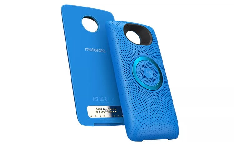 Motorola anuncia Moto Snap Stereo Speaker, acessório é uma caixa de som e viva-voz