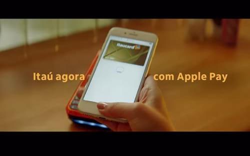 Banco Itaú lança primeiro comercial para o Apple Pay