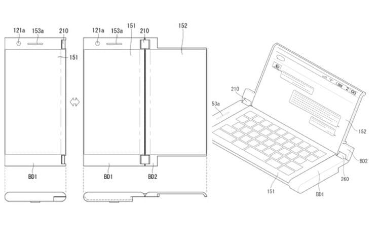 Com as duas telas, o dispositivo oferece uma experiência aproximada de um tablet.