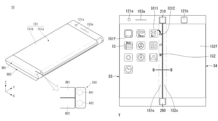 O dispositivo teria dois displays.