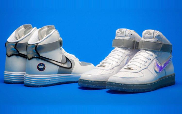 Você já tinha se dado por conta de como os tênis de Marty McFly têm o estereótipo de astronauta?