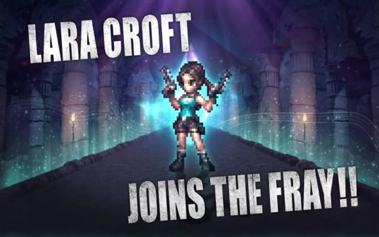 Lara em 'Final Fantasy Brave Exvius'.