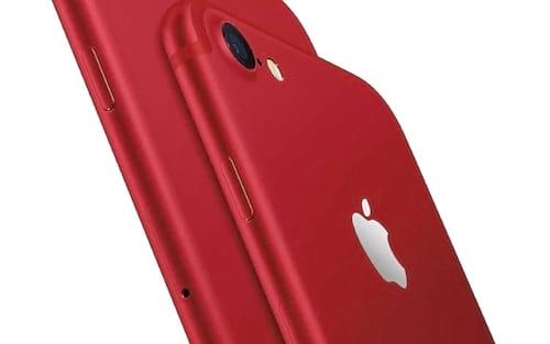 Apple anuncia iPhone 8 vermelho