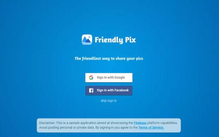 Friendly Pix informa que o usuário não deve compartilhar informações confidenciais