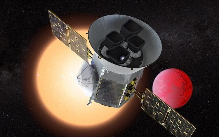 NASA irá lançar satélite de exploração para descoberta de exoplanetas.