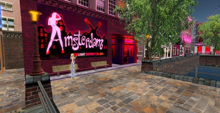 Um pedacinho da Amsterdã virtual