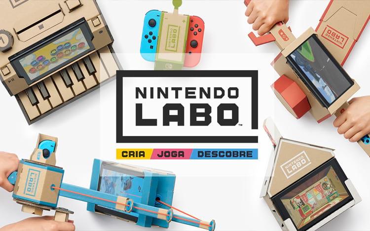 Nintendo Labo (Imagem: Divulgação/Nintendo)