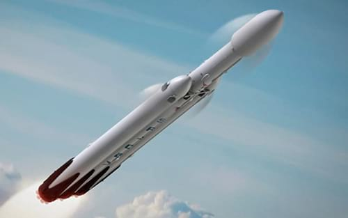 SpaceX planeja voos internacionais com foguetes
