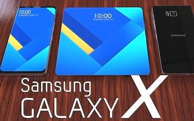 Rumores apontam Galaxy X com duas telas