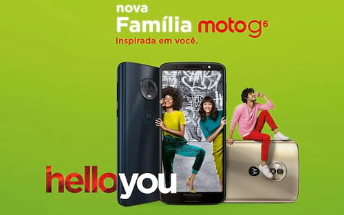 Motorola lança Moto G6, G6 Plus e a volta do G6 Play