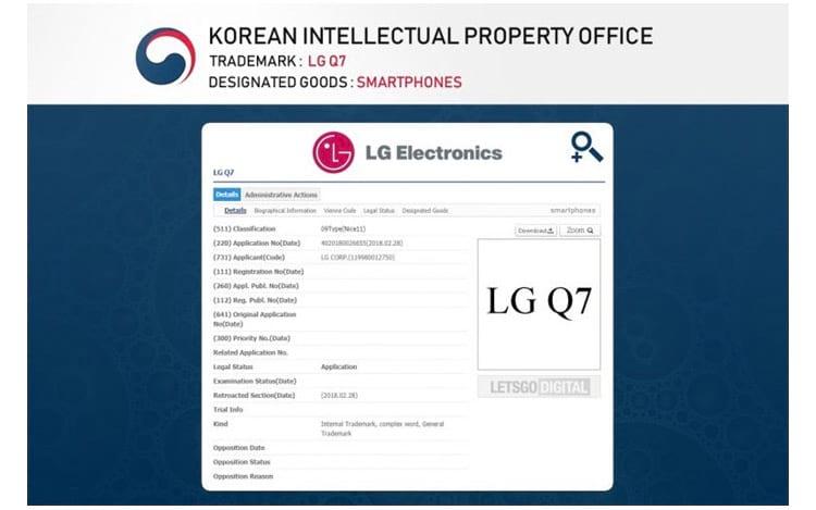 Registro em órgão coreano