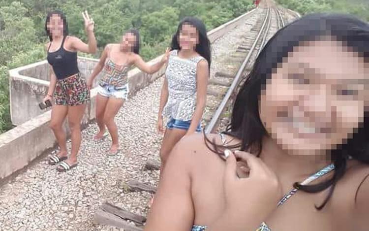 Perigo das selfies: Jovens no Piauí caem de ponte.