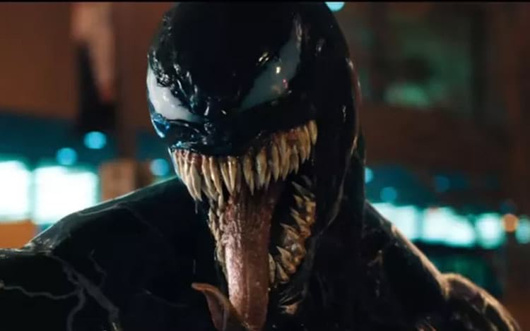 Trailer do filme de Venom demonstra visual do personagem