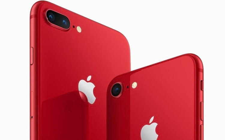 iPhone 8 vermelho chega ao Brasil