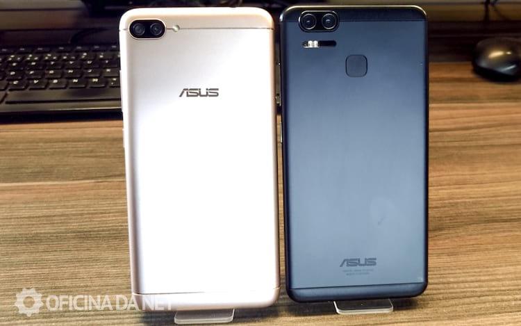 Zenfone 4 comparado com o Zenfone 3 Zoom