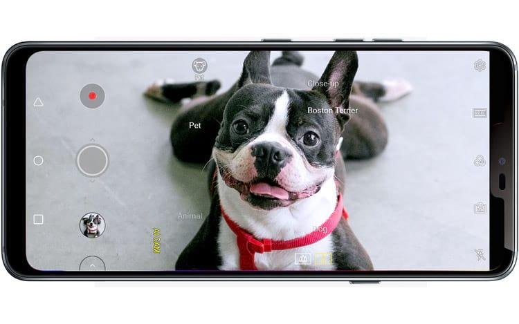 LG G7 - Inteligência artificial da câmera